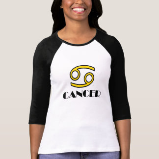 SPORTY YELLOW CANCER T-Shirt