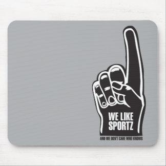 Sportz 2 tapete de ratones