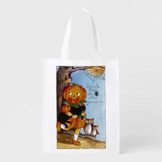 S'posin' a Ghost ran after Yoo-oo-oo! Reusable Grocery Bag