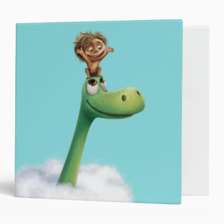 Spot And Arlo Head In Clouds Binder