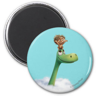 Spot And Arlo Head In Clouds Magnet