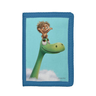 Spot And Arlo Head In Clouds Trifold Wallet