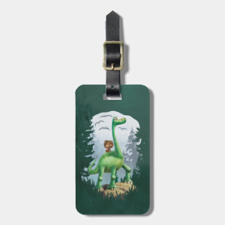 Spot And Arlo In Forest Bag Tag