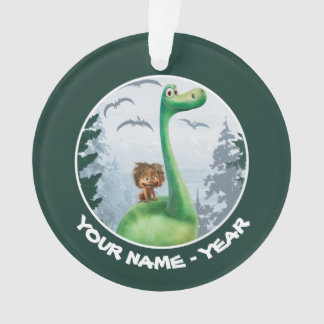 Spot And Arlo In Forest Ornament