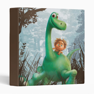Spot And Arlo Walking Through Forest 3 Ring Binder