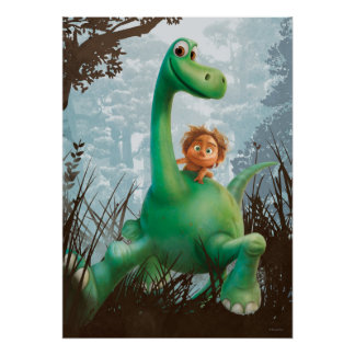 kids dinosaur posters zazzle. Black Bedroom Furniture Sets. Home Design Ideas