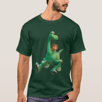 Spot And Arlo Walking Through Forest T-Shirt