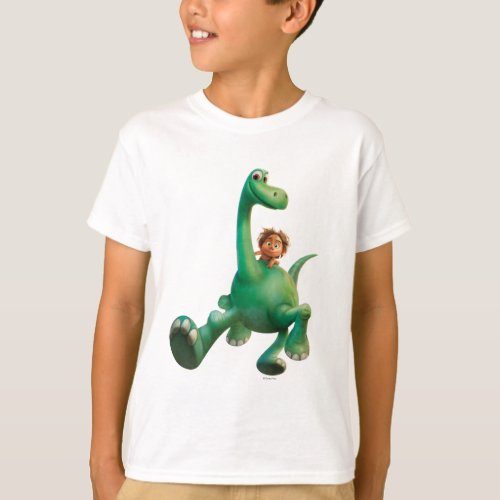 Spot And Arlo Walking Through Forest T_Shirt