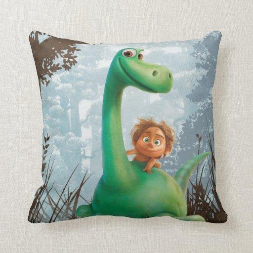 Throw Pillows Spotlight : Spot And Arlo Walking Through Forest Throw Pillow Zazzle
