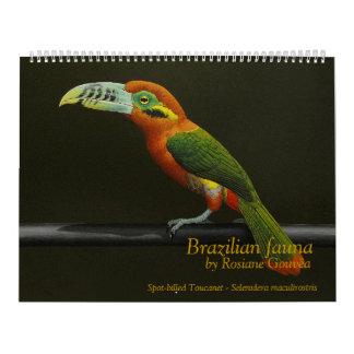 Spot-billed Toucanet Calendar