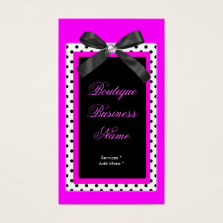Spot Boutique tag hot pink bow image