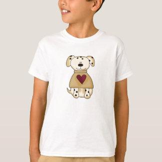 Spot Dog with Heart T-Shirt