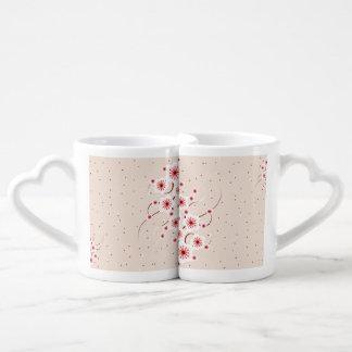 Spot Floral Duo Coffee Mug Set