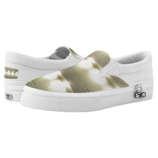 Spot Light Custom Zipz Slip On Shoes,  Men & Women