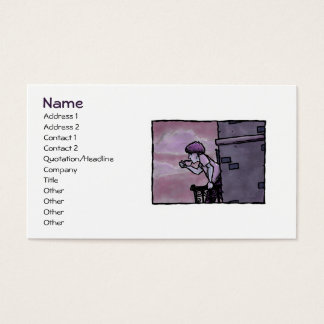 Spot of Java Profile Card Template