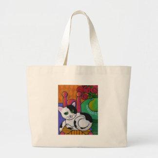 Spot The Cat Jumbo Tote Bag