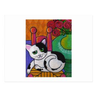 Spot The Cat Postcard