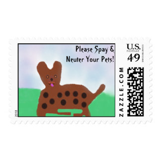 Spot the dog postage