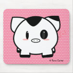 Spot the Pig Mousepad
