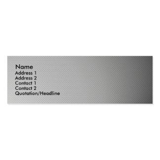 Spotlight carbon fiber skinny business card.