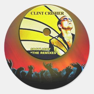 Spotlight Classic Round Sticker