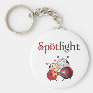 Spotlight Ladybug Keychain