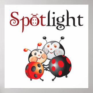 Spotlight Ladybug Print