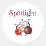 Spotlight Ladybug Sticker