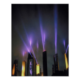 spotlight-on-skyscrapers poster