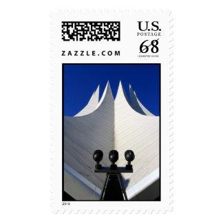 Spotlight on success postage stamp