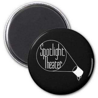 Spotlight Theater 2 Inch Round Magnet
