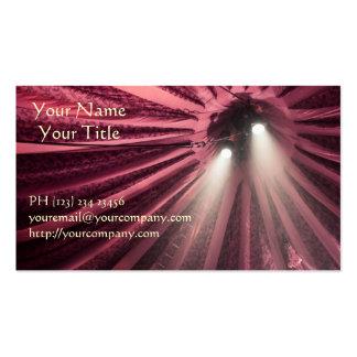 Spotlight under the Big Top Circus Business Cards