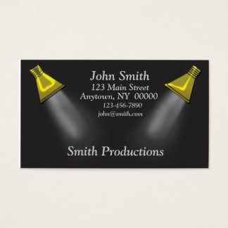 Spotlights Business Card
