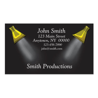 Spotlights Business Card
