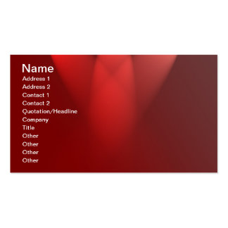 Spotlights-on-red-curtain529 SHINY RED GLOSSY SURF Business Card