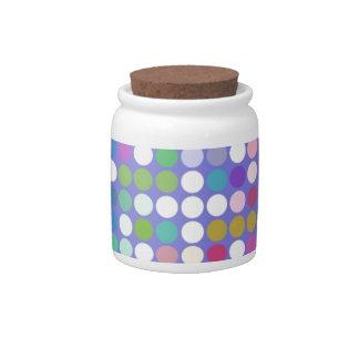 Spots Candy Jar