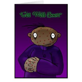 Spots - Dark Derek Greeting Card