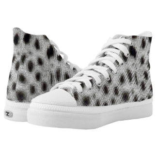 Spots Embossed High-Top Sneakers