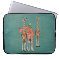 SPOTS & FEATHERS Computer Sleeve