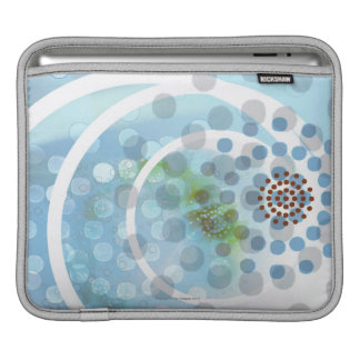 Spots in Circles Sleeve For iPads