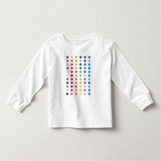 Spots Long Sleeved Kids Tee Shirt
