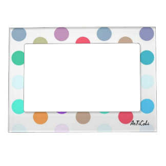 Spots Magnetic Photo Frame