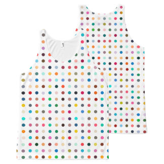"""""""SPOTS OF MANY COLORS"""" All-Over-Print TANK TOP"""
