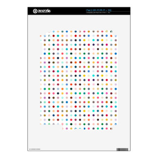 """SPOTS OF MANY COLORS"" iPad 2 SKINS"