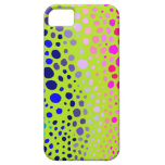 Spots on Lime iPhone 5 Case
