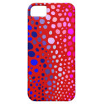 Spots on Red iPhone 5 Cases