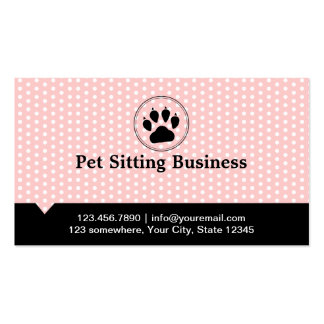 Pet Sitting Business Cards & Templates