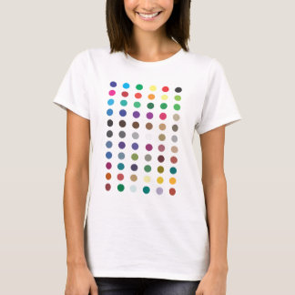 Spots Tee Shirt Fitted White