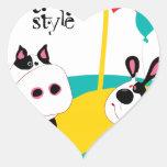 Spotstyle 4 heart stickers