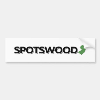 Spotswood, New Jersey Pegatina Para Auto